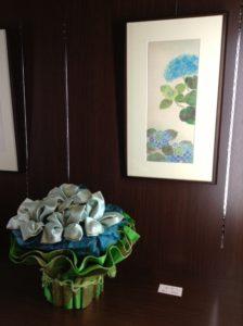 紫陽花 -青のコラボ